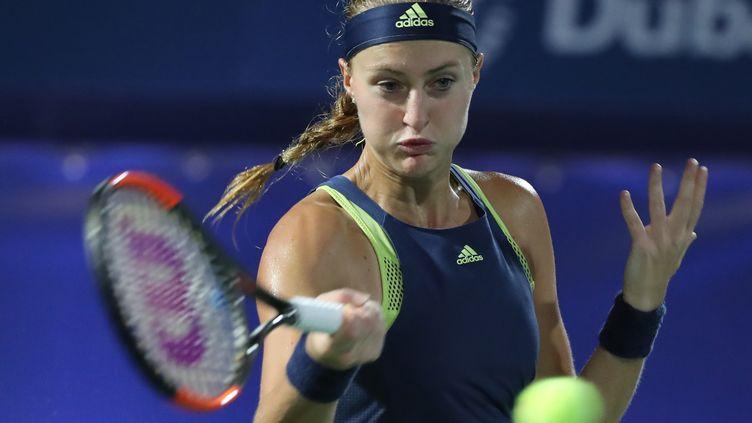 Kristina Mladenovic (KARIM SAHIB / AFP)