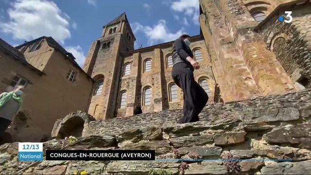 Aveyron : en pleine épidémie, des pèlerins de Saint-Jacques-de-Compostelle trouvent refuge dans une abbaye