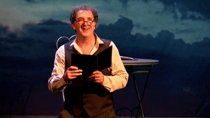 """François Morel dans """"Hyacinthe et Rose"""""""