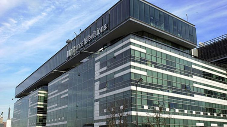 Le siège de France Télévisions dans le XVe arrondissement de Paris. (FRANCE 2 - Xavier Gassmann)