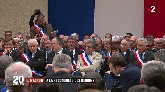 Grand débat : Emmanuel Macron à la reconquête des régions