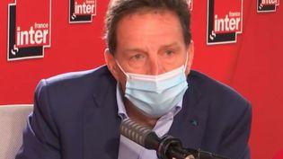Geoffroy Roux de Bézieux était l'invité de France Inter lundi 14 juin. (FRANCE INTER)