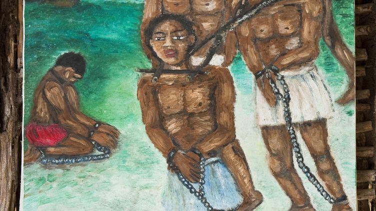 En Martinique, aux Trois Ilets, La savane des Esclaves, un mémorial de l'esclavage, par Gilbert Larose. (GETTY IMAGES)