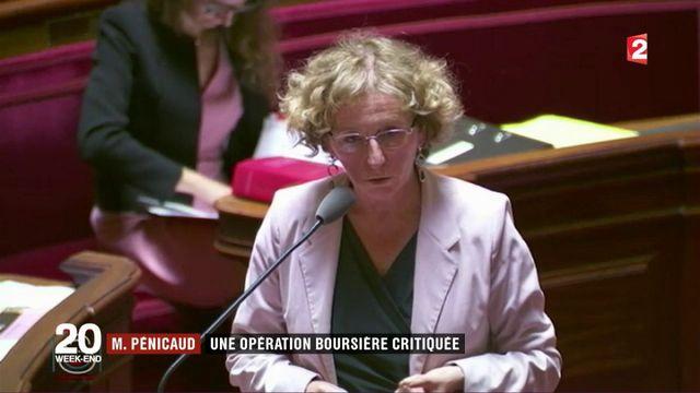 Muriel Pénicaud : la plus-value boursière qui fâche