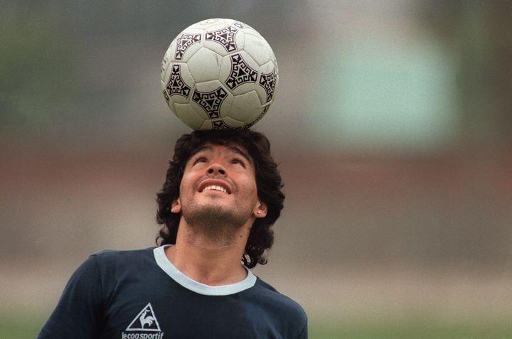 Diego Maradona (JORGE DURAN / AFP)