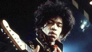 Jimi Hendrix en 1967.  (Marc Sharratt/Rex Features/Sipa)