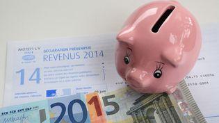 Une déclaration d'imposition sur les revenus de 2014. (  MAXPPP)