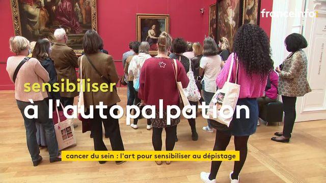 Le Palais des Beaux-Arts de Lille et le CHU de Lille s'associent pour la prévention et le dépistage du cancer du sein.