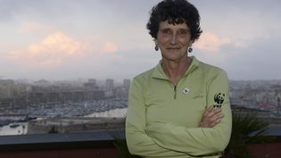Isabelle Autissier, la présidente de WWF France. (SPEICH FR?D?RIC / MAXPPP)