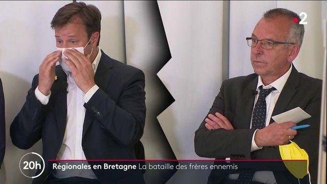 en Bretagne, le président sortant et son ancien vice-président s'affrontent
