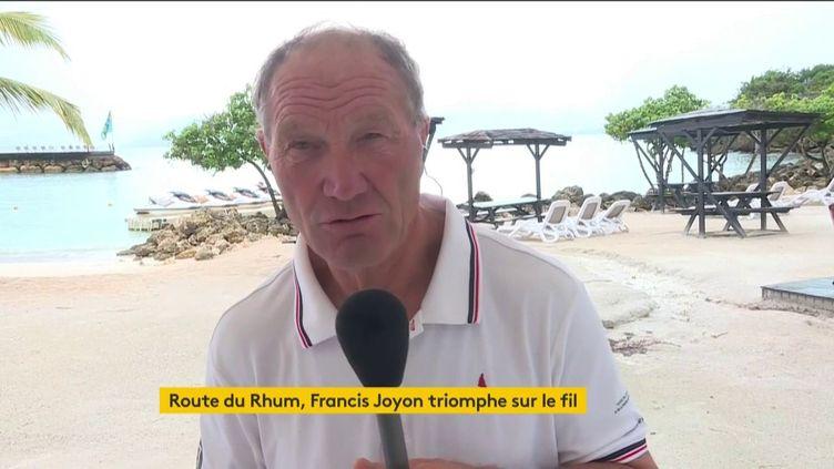 Francis Joyon (FRANCEINFO)