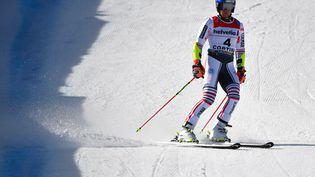 Alexis Pinturault et Clément Noël sont repartis sans médaille pour la fin des Mondiaux de ski alpin, le 21 février.  (ANDREAS SOLARO / AFP)