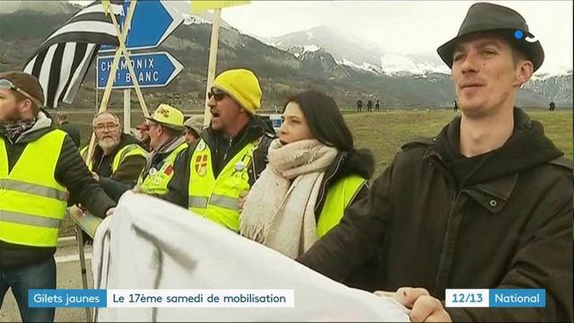 """""""Gilets jaunes"""" : un 17e samedi de mobilisation à Paris et en régions"""
