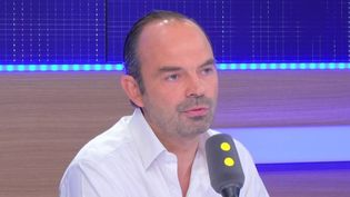 Édouard Philippe,maireLesRépublicains du Havre, sur franceinfo samedi 8 octobre (RADIO FRANCE / CAPTURE D'ÉCRAN)