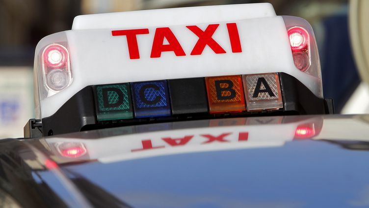 Illustration taxi. (ALEX BAILLAUD / MAXPPP)