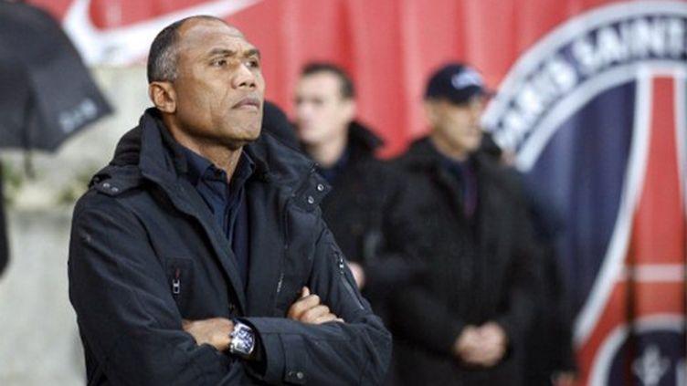 L'entraîneur parisien Antoine Kombouaré (THOMAS SAMSON / AFP)