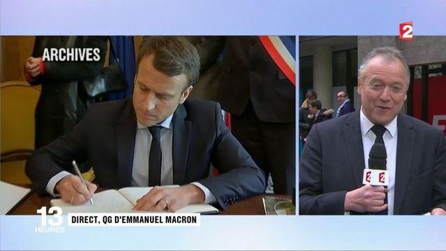 Présidentielle : comment Emmanuel Macron se prépare au débat de ce soir?