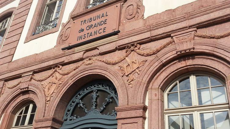 Le tribunal de grande instance de Colmar. (GUILLAUME CHHUM / FRANCE-BLEU ALSACE)