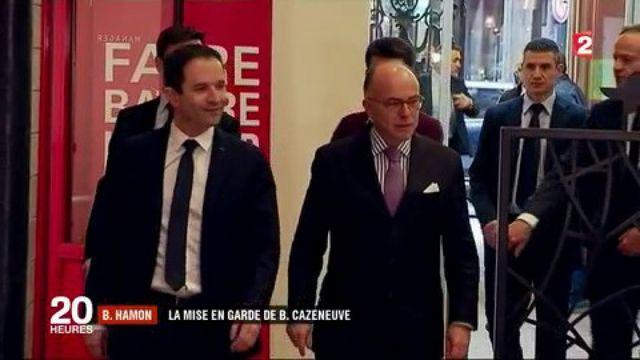 Présidentielle 2017 : le soutien nuancé de Bernard Cazeneuve à Benoît Hamon