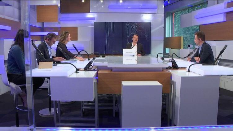 "Le ""8h30 franceinfo"" spécial Municipales, lundi 29 juin 2020. (FRANCEINFO / RADIOFRANCE)"