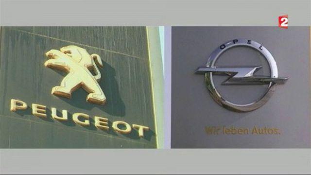Automobile : les avantages d'un mariage PSA-Opel