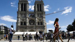 La cathédrale Notre-Dame de Paris, en mai 2020 (OLIVIER CORSAN / MAXPPP)