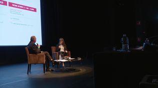 Margaret Bodde, directrice générale de la Film Foundation créée par Martin Scorsese, est l'une des participantes prestigieuses du Marché du film ancien. (France 3 Rhône-Alpes)