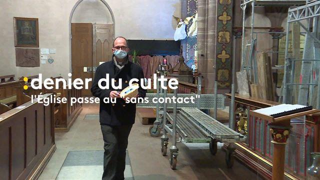 Quête digitale dans le diocèse de Strabourg