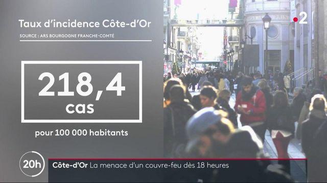 Côte-d'Or : vers un couvre-feu à 18 heures ?