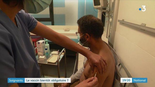 Covid-19 : vers une vaccination obligatoire pour le personnel de santé ?