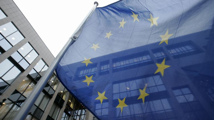 Le drapeau européen(illustration). (GERARD CERLES / AFP)