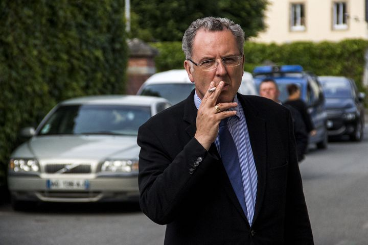 Le ministre de la Cohésion des territoires, Richard Ferrand, le 9 juin 2017 à Carhaix (Finistère). (MARTIN BERTRAND / HANS LUCAS / AFP)