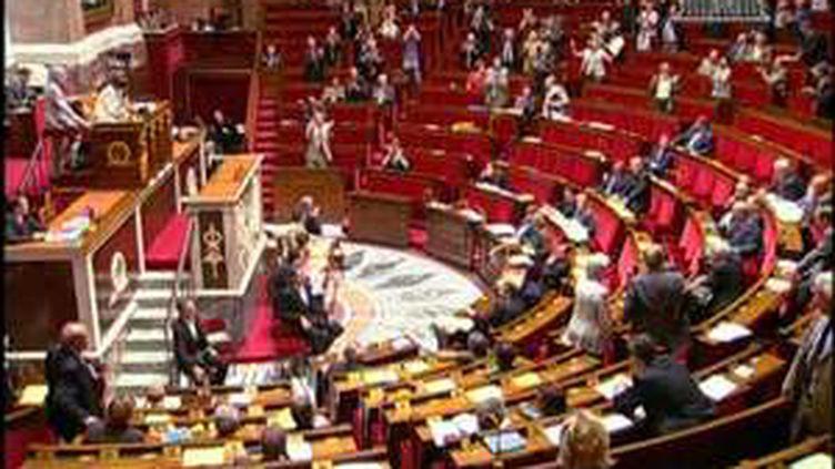 L'hémicycle de l'Assemblée Nationale. (© France3)