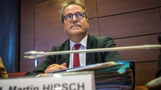 Martin Hirsch, directeur de l'AP-HP, a envoyé un mail à ses équipes, le 8 octobre 2021, à propos des signalements concernant le professeur Emile Daraï, gynécologue accusé de viols. (CHRISTOPHE PETIT TESSON / EPA)