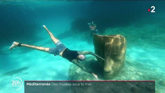 Méditerranée: un musée sous la mer au large de Cannes