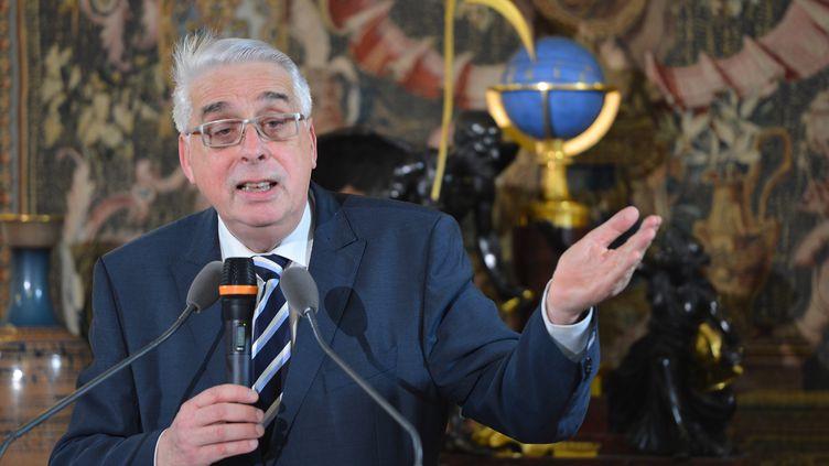 Jean-Pierre Sueur, en novembre 2012. (MIGUEL MEDINA / AFP)