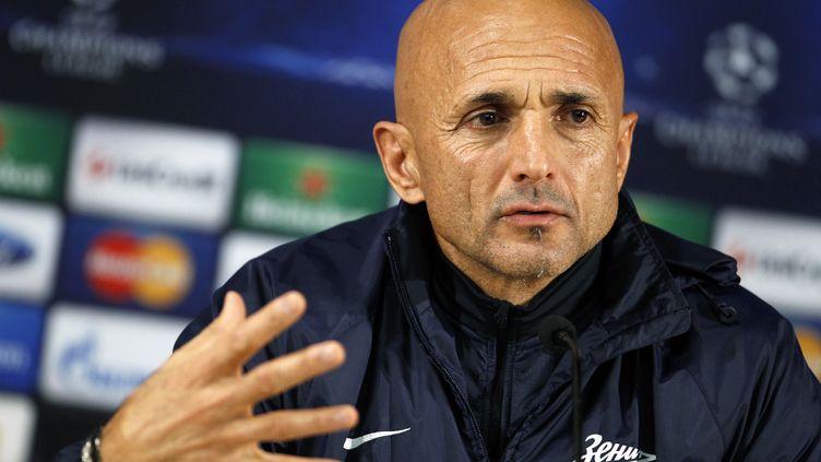 Luciano Spalletti a succédé à Rudi Garcia sur le banc de l'AS Rome (? RAFAEL MARCHANTE / REUTERS / X01620)