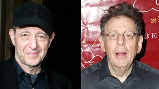 Les compositeurs Steve Reich et Philip Glass enterrent la hache de guerre pour trois soirées à New York en septembre 2014.  (J.Grassi/Patrick McMullan/Sipa - Bertil Ericson/AFP)
