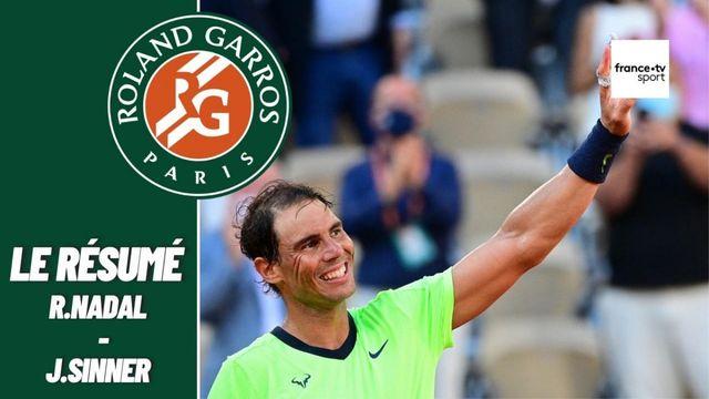Les meilleurs moments du match Rafael Nadal - Jannik Sinner