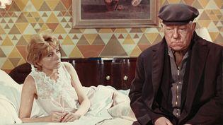 """Annie Cordy au cinéma dans """"Le Chat"""" de Pierre Granier-Deferre (1971) (MARCEL DOLE / PHOTO12 VIA AFP)"""
