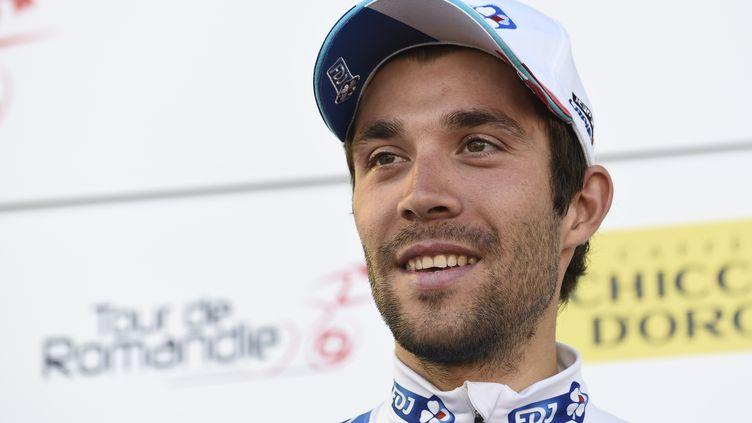Thibaut Pinot, le nouveau champion de France du contre-la-montre (ALAIN GROSCLAUDE / AFP)