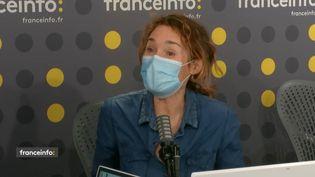 Marie Sophie Lacarrau, présentatrice du journal de la mi-journée de TF1. (CAPTURE D'ECRAN DAILYMOTION)