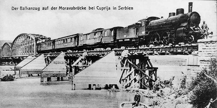 Le Balkanzug traversait l'Europe et les Balkans pendant la première guerre mondiale  (DR)