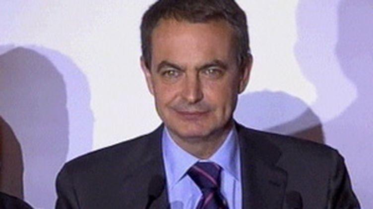 Le président du gouvernement espagnol, José Luis Zapatero (© France 2)