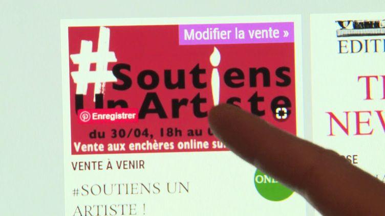 #Soutiens un artiste (France 3 Centre-Val de Loire / F. Mauffrey)