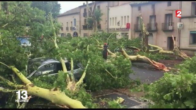 Tempête : trois blessés à Pézenas