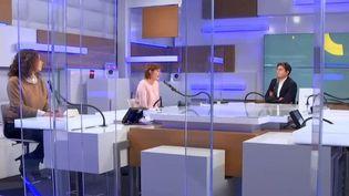 Le plateau des Informés du matin, à franceinfo le 29 janvier 2021 (FRANCEINFO / RADIO FRANCE)