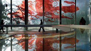 La Fondation Cartier pour l'Art contemporain avait rendu hommage à Moebius en 2010, en organisant une rétrospective de ses oeuvres. (FONDATION CARTIER POUR L'ART CONTEMPORAIN)
