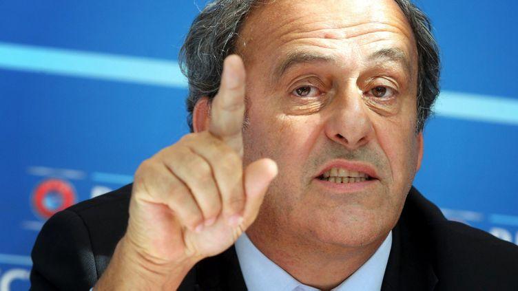 (Michel Platini n'a pas dit son dernier mot : il fait appel de sa suspension devant le TAS © MaxPPP)