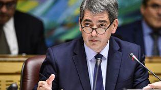 Jean Rottner, président Les Républicains (LR) du conseil régional du Grand Est, à Metz le 20 octobre 2017. Photo d'illustration. (JEAN-CHRISTOPHE VERHAEGEN / AFP)